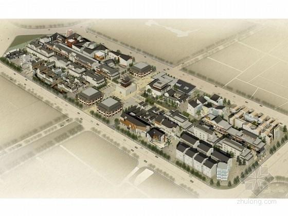 [天津]3层中式风格鼓楼商业街设计方案文本(4个地块)