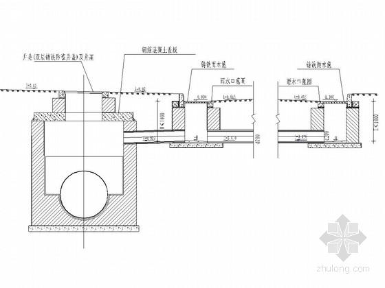 二车道城市支路给排水工程施工图设计28张