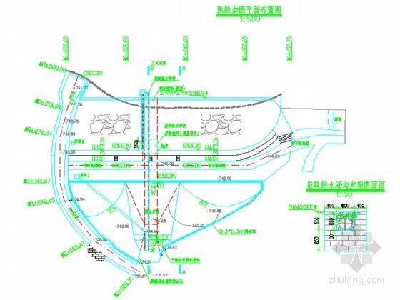 [重庆]水库坝体除险加固工程节点详图