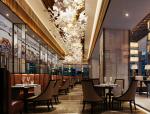 欧式高级餐厅3D模型下载