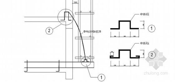 住宅楼工程悬挑脚手架施工技术交底