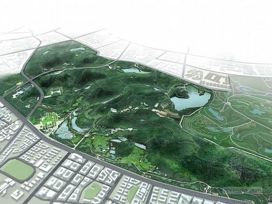 [东莞]复合型城市生态生活公园景观规划设计方案(知名设计机构)