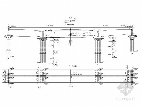75+120+75m变高度预应力砼连续箱梁设计图(91张)