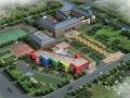 [上海]坡屋顶折线型三层小学幼儿园建筑设计方案文本