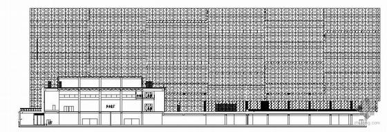 [深圳市]某高新技术产业园研发楼建筑幕墙施工图(穿孔铝板)