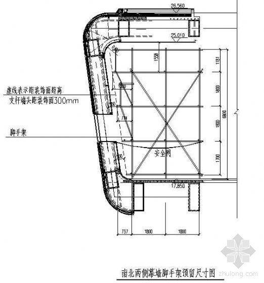 北京某大型图书馆室内装修脚手架施工方案交底