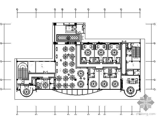 1000平米中餐厅装饰竣工图