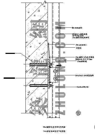 石材幕墙节点详图