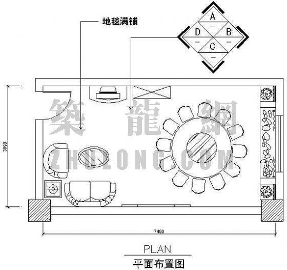 餐厅包间图1