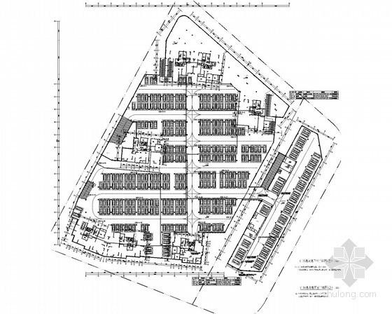 [浙江]高层住宅楼弱电设计施工图纸(含地下室)
