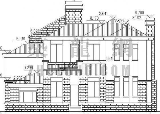 某二层独立别墅建筑施工图-2