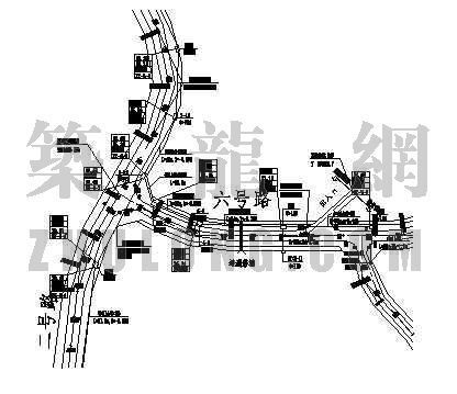 电信室外管槽施工图