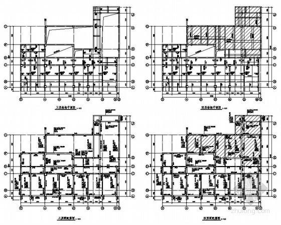 绵阳市某办公楼结构设计图