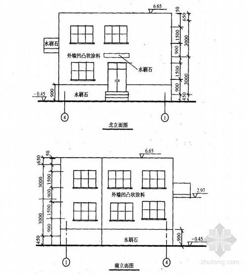 [毕业设计]办公楼建筑装饰工程量计算及预算实例