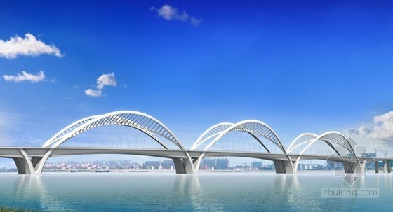 [杭州]钢拱组合体系桥钢结构顶推施工组织设计