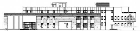 [廊坊市]某三层洗浴中心建筑结构施工图