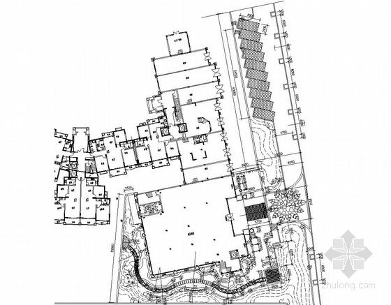 [常州]售楼部周边环境园林景观工程施工图