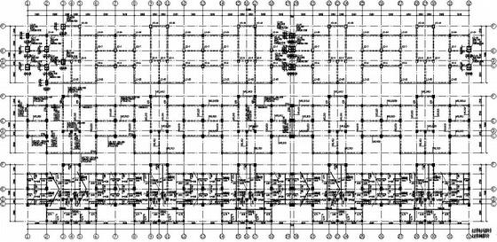 六层框架结构住宅楼结构施工图
