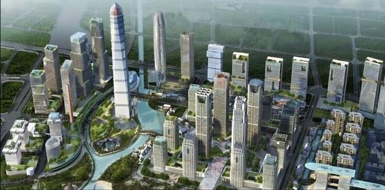 [广州]超高层国际金融城中心规划设计方案文本(国外知名事务所)