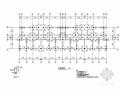 六层异形柱框架结构带跃层住宅楼结构图