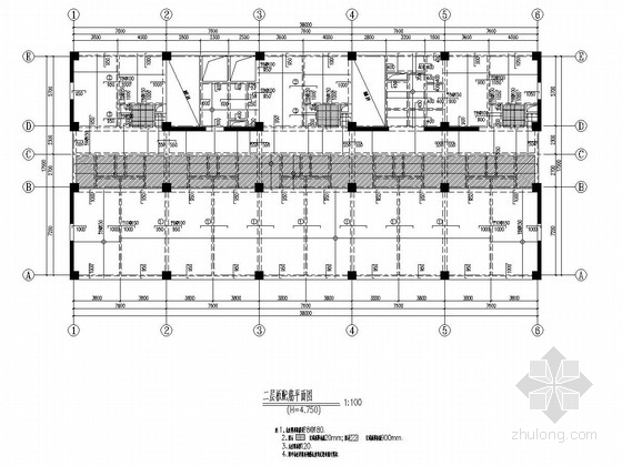 [南京]18层框架剪力墙结构快捷酒店结构施工图