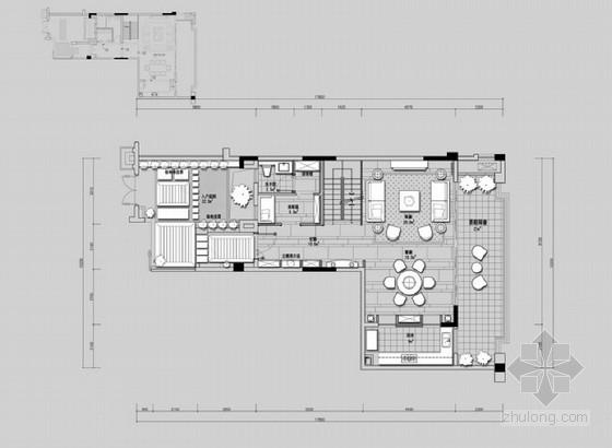 [四川]低调奢华两套小户型样板房深化设计方案