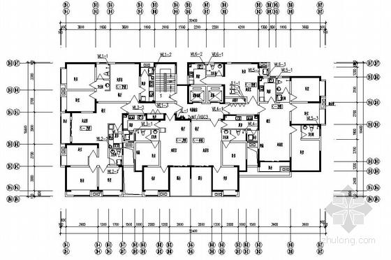 郑州某高层住宅楼给排水施工图
