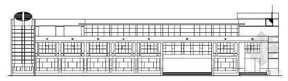 某农业大学大学餐厅建筑设计方案图