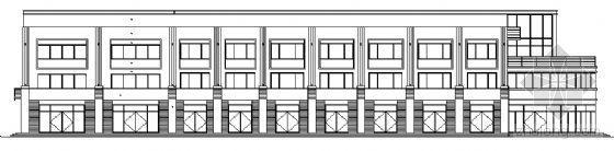山东香港五金家居城B8块改造工程建筑施工图