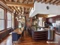 25款现代室内设计与天花板横梁 |艺术感满满