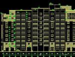 多层新中式风格度假公寓施工图