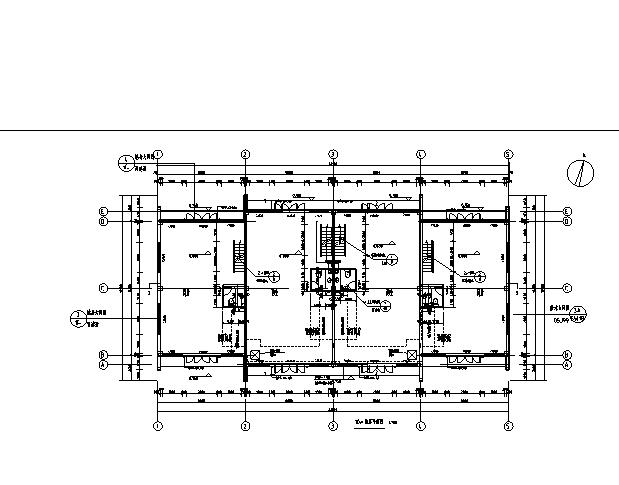 [辽宁]18栋商贸楼建筑施工图(含机电——结构图纸)_9