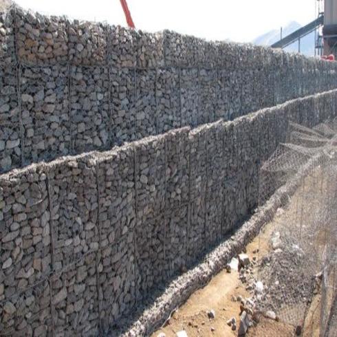 石笼网网挡土墙施工要点及在应用过程中的优点