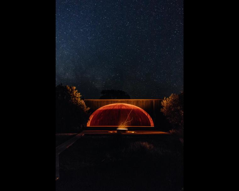 拱顶外的繁星篝火,拱顶内的怀古情结:威廉山国家公园徒步宿营点