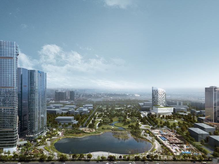 加拿大MCM规划建筑设计事务所(北京)公布成都交子艺术中心方案
