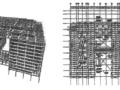 凯晨广场多塔连体结构研究