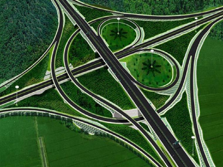 道路交叉口设计讲义总结之立体交叉(PPT共128页)