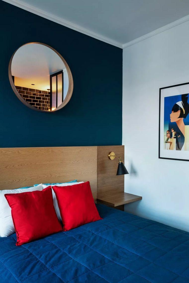 深色系墙面设计,让你家的颜值翻一倍_17