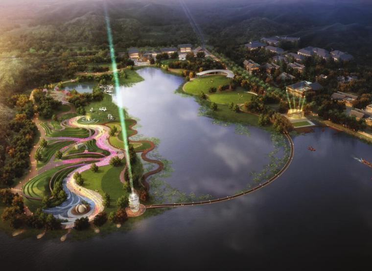 [湖北]武汉东湖绿道森林公园景观设计文本2017年(包含ppt+135页)图片