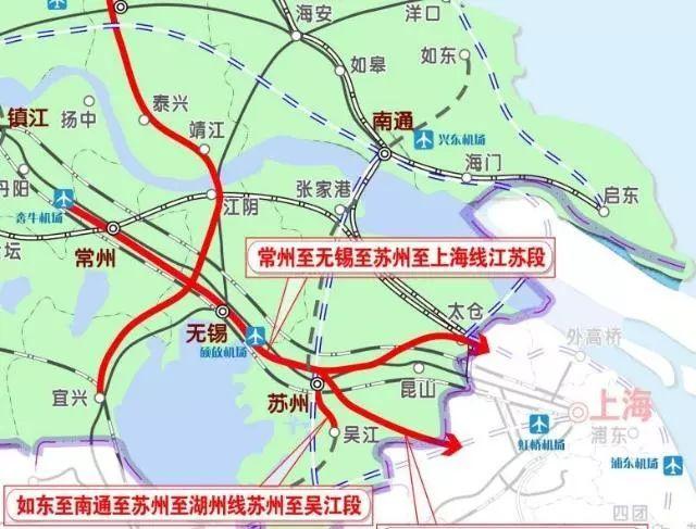 上海大都市圈轨道交通详解:城轨互连!通勤高铁、铁路密布_11