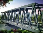 大跨度钢桁架桥梁的结构设计