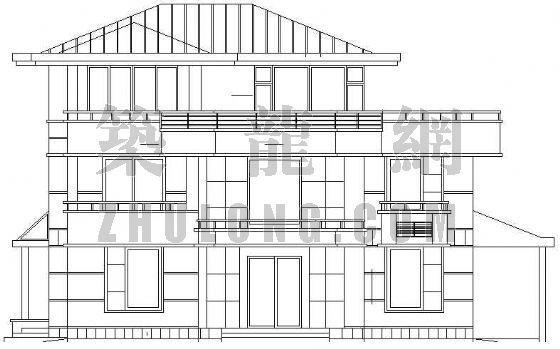 某三层别墅的全套建筑施工图