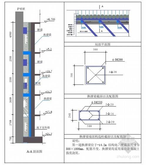 [广州]大型公建土建工程施工方案(人工挖孔桩 整体提升模板 高强混凝土)