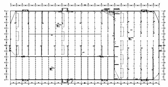 某单层厂房电气施工图