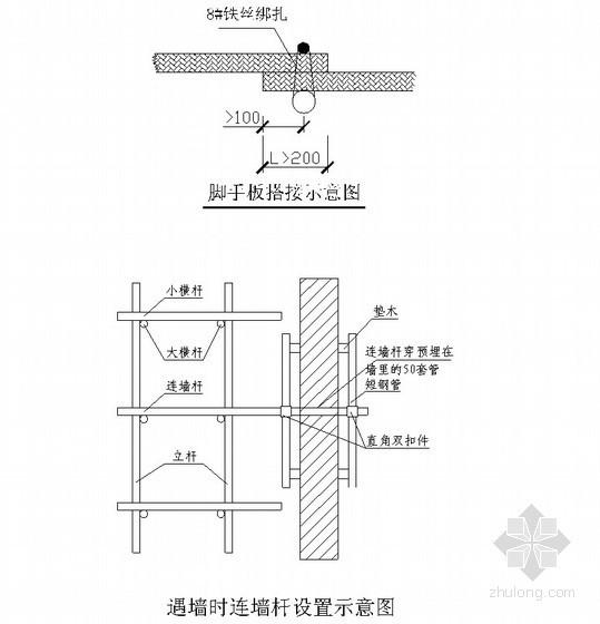 悬挑式双排钢管脚手架施工方案(32m)