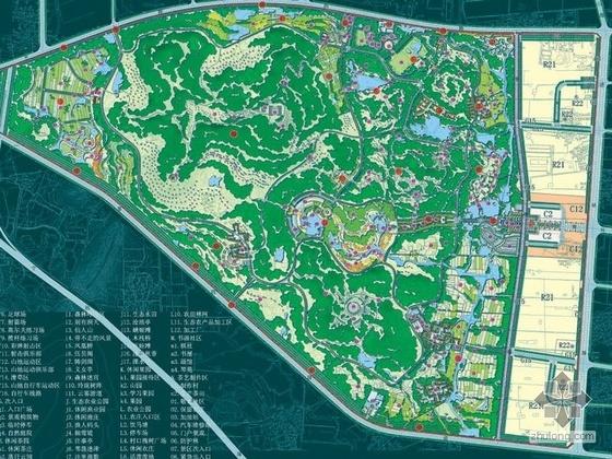 江苏风景区详细规划