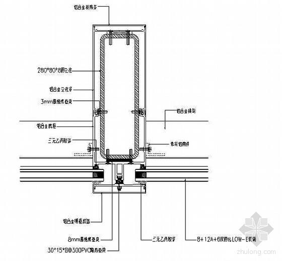 厦门某超高层大厦幕墙工程施工组织设计(隐框式玻璃幕墙 147m))