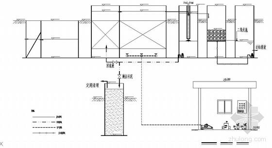 某景点地埋式一体化污水处理工程施工图