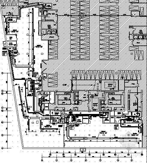 [无锡]商业广场地下室人防设计施工图
