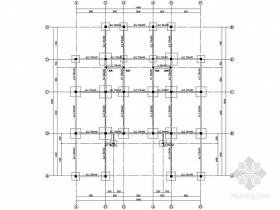 [山东]单层框架结构会议中心结构施工图